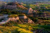North Dakota Landscape Photograph - Painted Canyon Morning