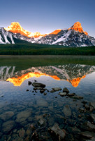 Mt. Cephron and Waterfowl Lake