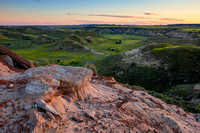 North Dakota Landscape Photograph - The Days Last Embrace